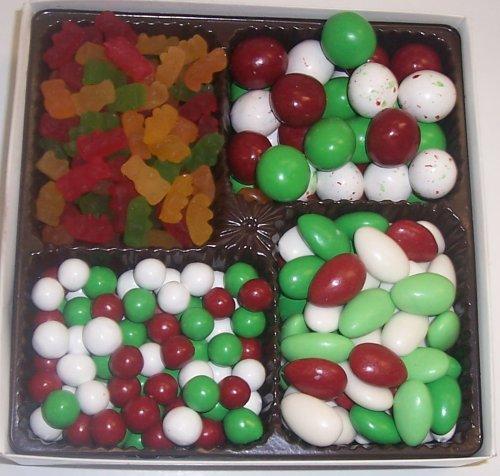 Scott's Cakes Large 4-Pack Dutch Mints, Christmas Jordan Almonds, Christmas Malt Balls, & Gummie Bears