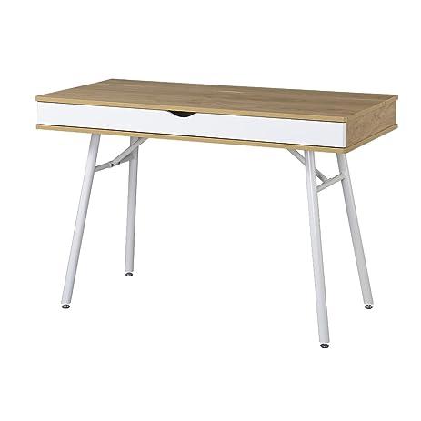 amazon.com: techni mobili modern computer desk with storage, pine ... - Mobili Tv Amazon