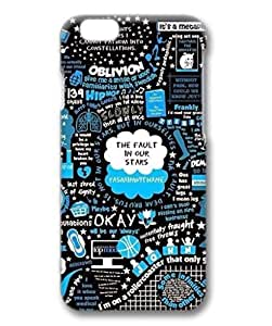 iCustomonline The Fault in Our Star Personalized 3D Back Case for iPhone 6 Plus( 5.5 inch)