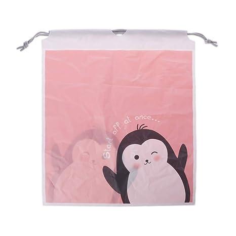 Bolsa de viaje impermeable con cordón para ropa interior S01
