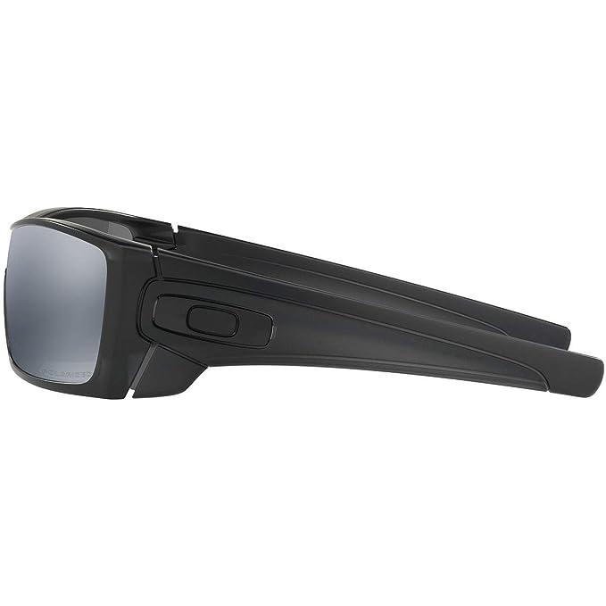 136a0ec402 Amazon.com  Oakley mens Batwolf OO9101-35 Iridium Polarized Sport  Sunglasses