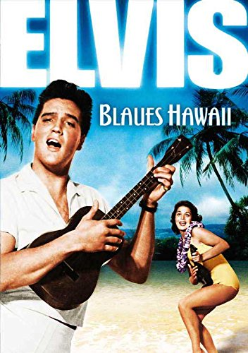 Blue Hawaii German Movie Poster