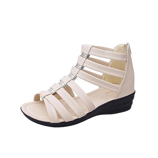 5c135a1b5be1 DENER Women Ladies Girls Summer Gladiator Sandals
