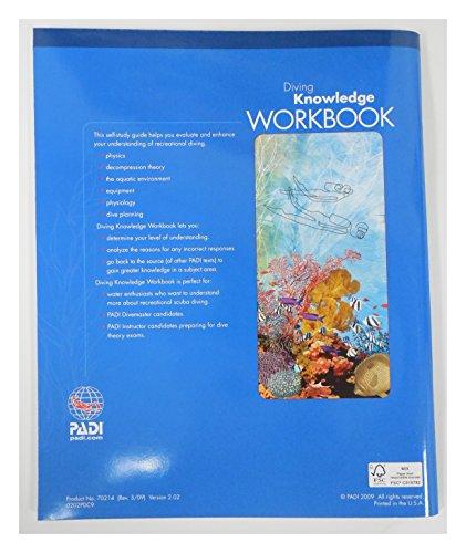 Padi diving knowledge workbook book scuba diving dive - Dive shops near me ...