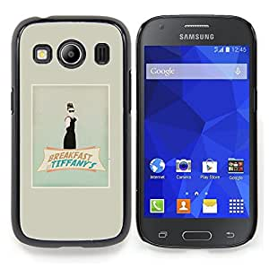 For Samsung Galaxy Ace Style LTE/ G357 Case , Audrey Classic Film Película - Diseño Patrón Teléfono Caso Cubierta Case Bumper Duro Protección Case Cover Funda