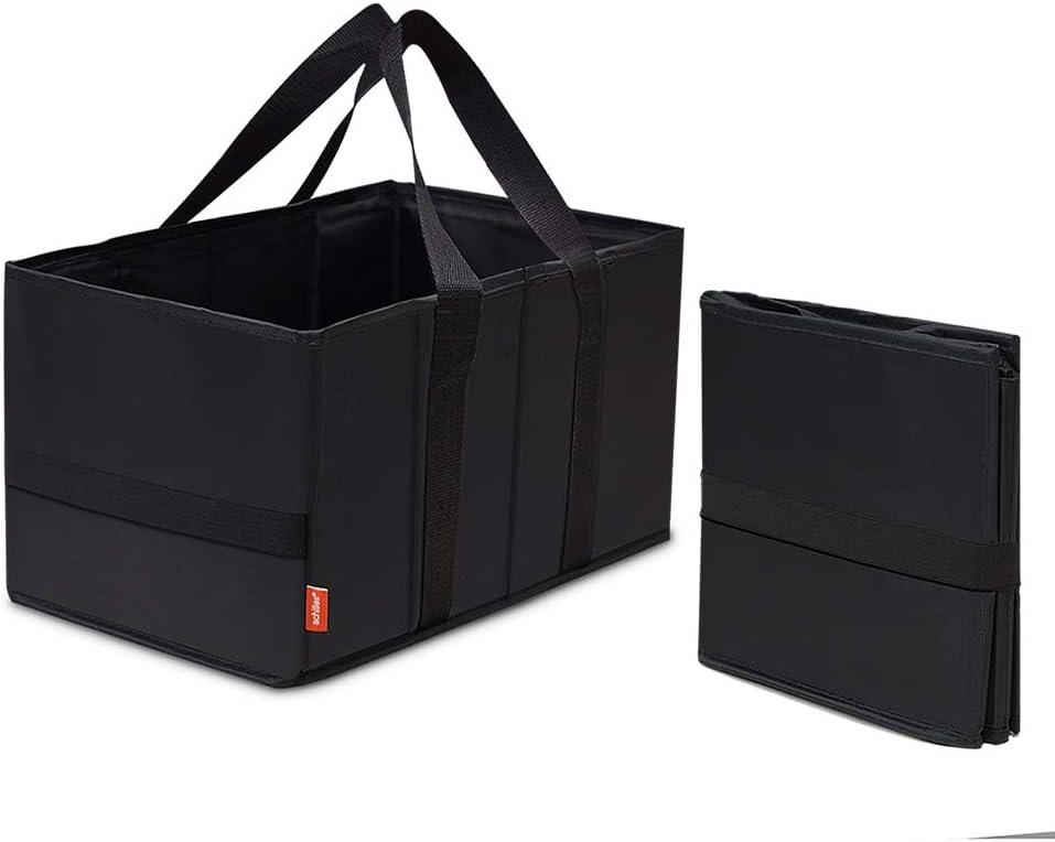 37 cm x 20 cm x 23 cm Smart-Box achilles Caja inteligente Cesta//canasto plegable de compras carrito de compras cesta plegable cesta de compras bolsa de compras en formato pr/áctico
