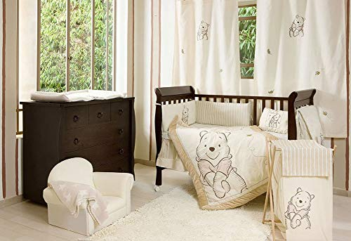 Bedding Crib Pooh Set - [Winnie the Pooh] 4 Pc Crib Bedding Set Crib Bedding Collection (Bumper)