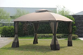 Big Lots South Hampton Gazebo Canopy Replacement Only No Metal