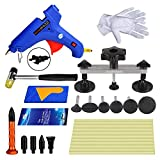 Super PDR Dent Puller Kit,27Pcs New PDR Auto CAR Body Paintless Dent Repair Removal Tools kit Dent Bridge Puller Set