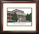 Middle Tennessee State MTSU Framed Lithograph Print