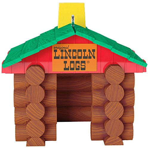 Hallmark Keepsake 2017 Hasbro LINCOLN LOGS Christmas (Log Ornament)