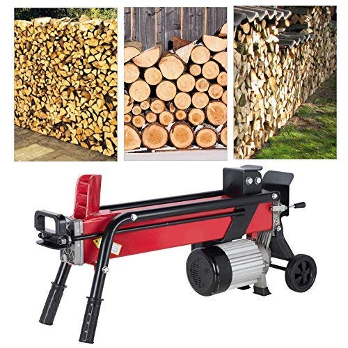 Electrical Log Splitter Wood Cutter with Mobile Hydraulic Wh