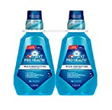 Crest Pro-health Multi-protection Alcohol Free Rinse 1.5l Pack of 2