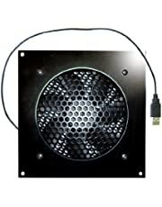 Coolerguys 120mm USB Fan with Cabinet Mounting Bracket