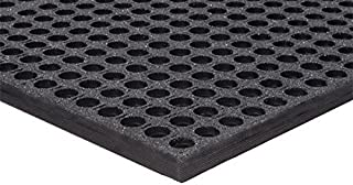 """product image for APACHE MILLS - 1/2"""" WorkStep Black with GritTuff 3' x 5' Anti-Fatigue Matting"""