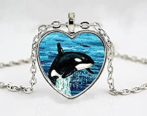 Amazon jewelry tycoonkiller whale necklace orca pendant jewelry tycoonkiller whale necklace orca pendant art pendant pendant necklace aloadofball Choice Image