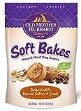 Old Mother Hubbard Gourmet Goodies Soft Bakes Natural Dog Treats, Peanut Butter & Carob, 6-Ounce Bag
