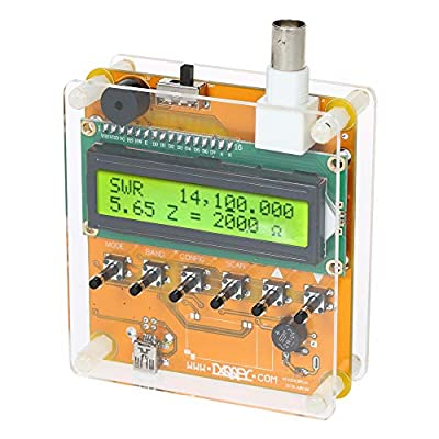 Digital Shortwave Antenna Analyzer Meter Tester for Ham Radio Q9 1~60M For Testing Standing Wave Resistance Capacitance