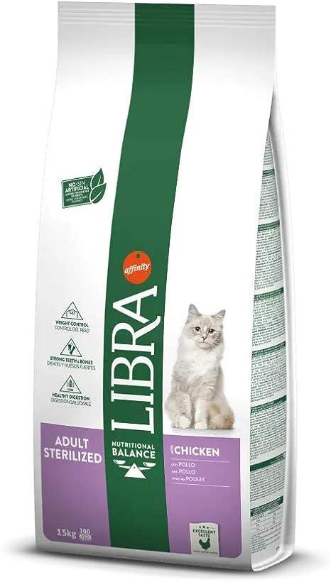 Affinity Libra Gatos Esterilizados - 15 kg: Amazon.es: Productos para mascotas