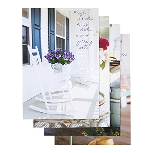 Get Well - Inspirational Boxed Cards - Sunny Days (Boxed Well Cards)