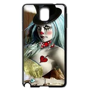 Diy Clown Phone Case for samsung galaxy note 3 Black Shell Phone JFLIFE(TM) [Pattern-2]