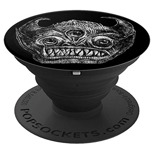 Into The Dark - The Face - PopSockets Grip and Stand for Phones and Tablets -