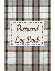 Personal Internet Address and Password Log Book: With Alphabetical Tabs, 6 x 9 in, 110 pages, Logbook to Protect Usernames and Passwords