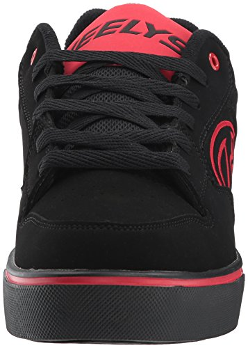 Heelys Heren Motion Plus Mode Sneaker Zwart / Rood