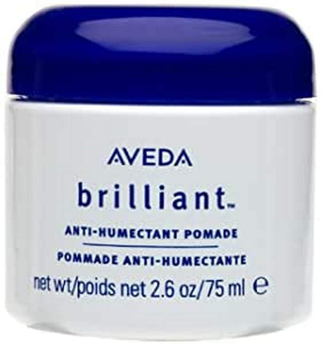 Aveda Brilliant Anti-Humectant Pomade, 2.6 oz (Pack of 2)