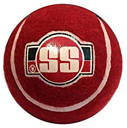 Ss Soft Pro Heavy Tennis Balls By Sunridges (Red Balls Pack Of 6)
