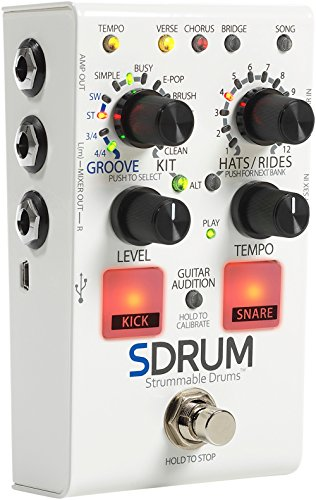 DigiTech SDRUM Auto-Drummer Pedal with BeatScratch Pads by DigiTech