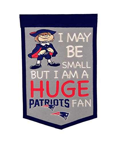 Winning Streak NFL New England Patriots Lil Fan (Wool Nfl Banner)