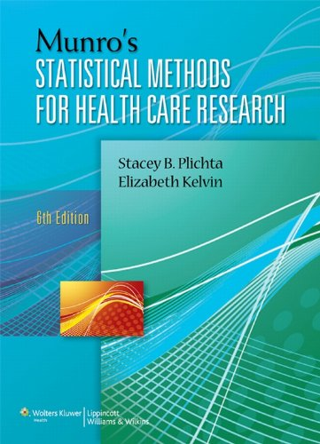 Download Munro's Statistical Methods for Health Care Research Pdf