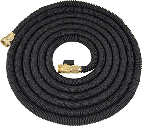 Phantom 75' Expandable Garden Hose Bungee Style Expanding Hose Solid Brass Connectors Expandable Hose by Phantom