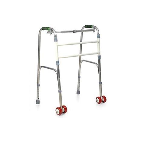 Caminante Ligero Andador Plegable Ajustable de Cuatro Pies Muleta ...