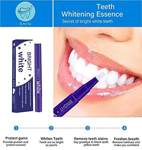 Teeth Whitening Pen – 2 Pcs Value Pack, 18+ Uses, Whitening Treatments, No Sensitivity, Travel-Friendly, Effective, Painless, Beautiful White Smile, Effective Remove Yellow Teeth, Coffee Stains etc. by O-CONN (Image #3)
