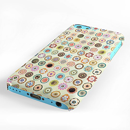 Koveru Back Cover Case for Apple iPhone 5C - Pattern of flowers