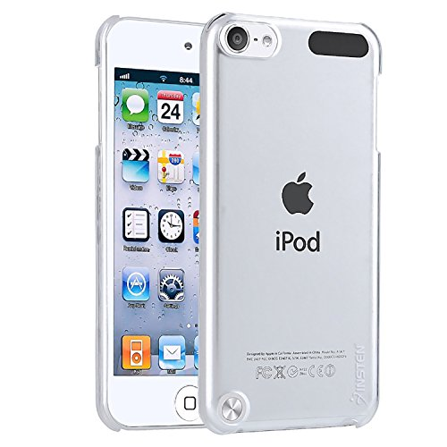 Insten Clear Ultra Thin Slim Hard Snap-On Transparent Crystal Back Cover Skin Case for New iPod Touch 5th/ 6th Generation (Ipod Touch 5 Chargers In Red)