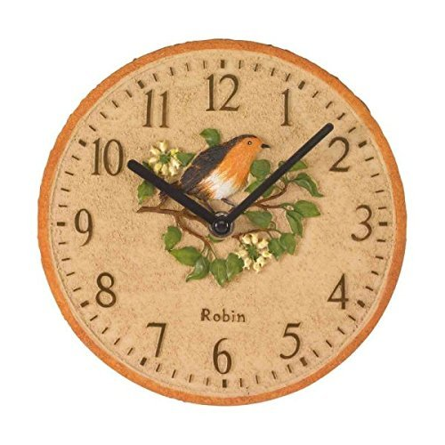 Outdoor/Indoor Vintage Owl Wall Clock with Handpainted Large 30 ...