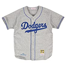 Jackie Robinson Brooklyn Dodgers Mitchell & Ness Authentic 1955 Road Jersey