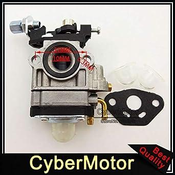 Accessories Parts Carburetor Carb For Viza Motors Keyang Engine Ky171 33cc Amazon Co Uk Welcome