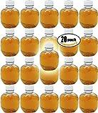 Martinelli's Gold Medal, 100% Apple Juice, 10oz Bottle (Pack of 20, Total of 200 Oz)