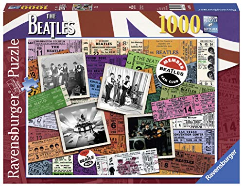 (Ravensburger The Beatles Tickets 1000 Piece Jigsaw Puzzle for Adults – Every Piece is Unique, Softclick Technology Means Pieces Fit Together Perfectly)