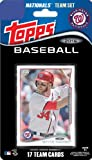 2014 Topps Washington Nationals Factory Sealed Special Edition 17 Card Team Set with Bryce Harper Stephen Strasburg Plus