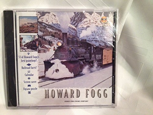 Screensaver Calendar - Howard Fogg Paintings, Railroad Facts, Calendar, Screen Saver and Jigsaw Puzzle