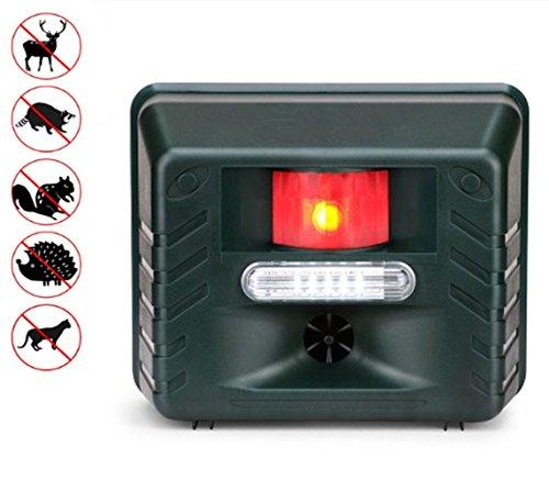 YOYO GARDEN Animal Repeller Battery Eco-Friendly Ultrasonic Expulsion Device Mole Snake Mouse...