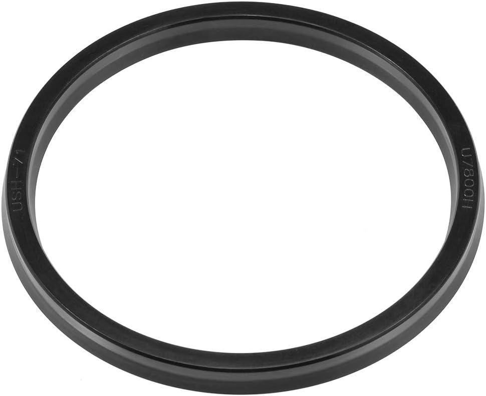 50mm x 60mm x 6mm sourcing map Hydraulic Seal Piston Shaft USH Oil Sealing O-Ring