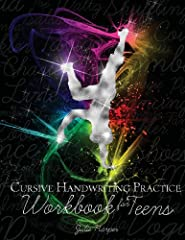 "This workbook, Cursive Handwriting Practice Workbook for Teens, is designed to inspire teens' interest in learning and practicing cursive handwriting. Teens enjoy writing sentences like ""Wizard school is so cool,"" and, ""Talk to you later."" Ex..."