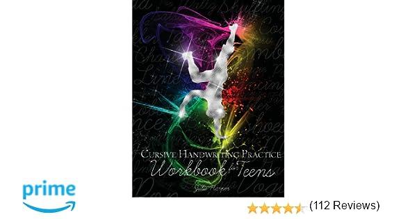 Cursive Handwriting Practice Workbook for Teens: Julie Harper ...