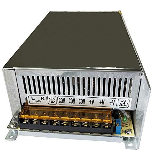 - Henxlco AC 110V - 220V TO DC 12V Regulated Transformer Switch Power Supply Driver Adapter For CCTV camera Security System LED Strip Light (50A)